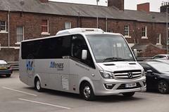 YSU989  Maynes, Buckie (highlandreiver) Tags: ysu989 ysu 989 maynes coaches buckie turas bus coach carlisle cumbria