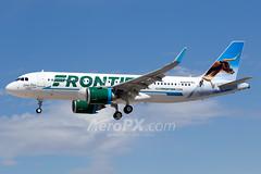 Frontier Airlines Airbus A320-251N - N347FR (AeroPX) Tags: aeropx airbusa320 airbusa320neo caryliao frontierairlines klas las lasvegas lasvegasmccarraninternationalairport lonestarthelonghornsteer n347fr nv nevada httpaeropxcom httpcaryliaocom