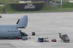 Dover C-5M unloading some UH-60s (airforce1996) Tags: military usairforce usmilitary aircraft airplane airforce aviation usaf germany luftwaffe raf nato rhinelandpfalz deutschland ramstein ramsteinairbase