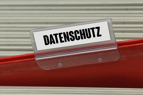 Hängeregister DATENSCHUTZ