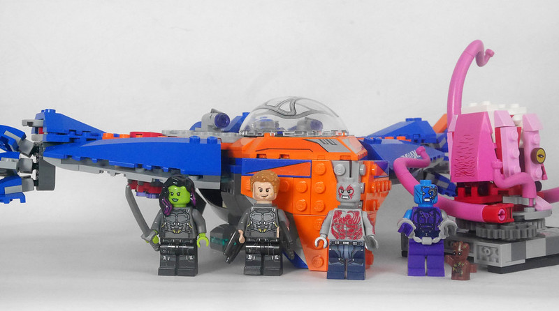 76081 Guardians of the Galaxy Vol 2 The Milano vs The Abilisk