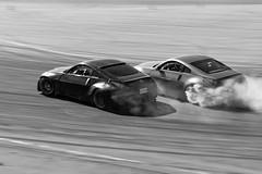 Tandem Drifting (Find The Apex) Tags: nolamotorsportspark nodrft drifting drift cars automotive automotivephotography nikon d800 nikond800 tandemdrift tandem tandemdrifting tandembattle nissan 350z nissan350z z33