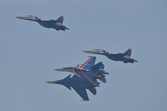 LIMA19 - 60 (coopertje) Tags: malaysia pulau langkawi lima airshow aircraft jet fighter sukhoi su30 flanker russian air force russianknoghts
