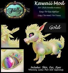Folly_NoodleMod_KawaiiAdGold (Cane's Folly SL) Tags: second life cane sutter folly chibi noodle