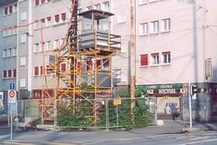 Lichtsignal-Schaltposten Voltaplatz 07-05 (hans.hirsch) Tags: post volta platz kreuzung baustelle nord tangente 4056 sankt johann basel
