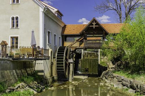 The historic Ottersbach mill