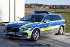 FuStw -Volvo V90- Autobahnpolizei M/V (Stephan Dannigkeit) Tags: polizei police policja politi volvo v90 hänsch dbs 4000led 4000 led mecklenburg vorpommern deutschland germany niemcy autobahnpolizei highway patrol radiowóz