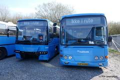 2005' Volvo B12M-60 Ajokki 8700 & 2001' Scania L94IB Lahti Flyer 520 (Kim-B10M) Tags: arriva midttrafik 2720 2894