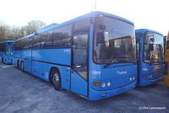 2004' Scania L94IB  Lahti Flyer 520 (Kim-B10M) Tags: arriva midttrafik 2884 2885