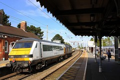 Change at Manningtree for Harwich (Chris Baines) Tags: drs 37059 with ga dvt 82114 manningtree working canton pullmans norwich crown point 321 bay platform harwich branch