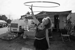 Street-Circus (ZEN evolved Optimist) Tags: streetphotography circus street pipinuka black white blackwhite hulahop