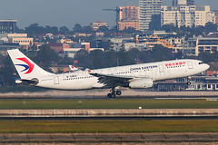 China Eastern Airbus A330-243 B-5962 (Mark Harris photography) Tags: spotting plane airbus canon 5d aviation yssy sydney