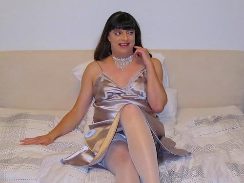 Sexy silver girl