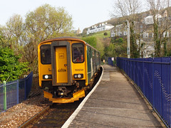 150234 & 150244 St Ives (4) (Marky7890) Tags: gwr 150234 class150 sprinter 2a39 stives railway cornwall stivesbayline train