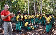 First responders . . . (ericrstoner) Tags: aldeiapiaraçu piaraçu kayapó indigenousfirebrigade amazon amazônia terraindígenacapotojarina capotojarina forest floresta fire fogo firstresponders firstaid