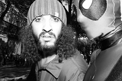 (The Comeback of Er Monnezza) (Robbie McIntosh) Tags: leicam9p leica m9p rangefinder streetphotography 35mm leicam autaut candid strangers leicaelmarit28mmf28iii elmarit28mmf28iii elmarit 28mm eyecontact comicon flash