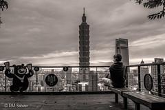 TAIPEI 101 y El gran Pancho B&N flickr 2019 (PM.SABATER) Tags: happyplanet asiafavorites