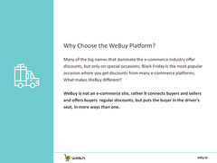 How Can Shopping Using WBY Earn More Than Discounts? | Adverts | WeBuy_3 (webuyofficial) Tags: webuy ecommerce ads adverts wby ecommerceplatforms buyers sellers discounts