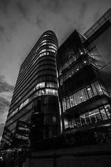 Düsseldorf0174Zollhafen (schulzharri) Tags: düsseldorf nrw deutschland germany europa europe architektur architecture glas modern haus building himmel gebäude stadt