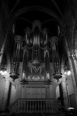 Organ (sebastienvillain) Tags: switzerland suisse fujifilm fuji xe2 xseries noiretblanc blackandwhite bw nb monochrome organ orgue church eglise neuchatel xf18mm