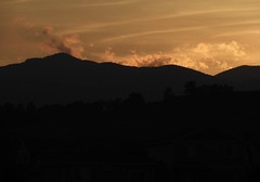 sunset over the front range (cassandi) Tags: nikonb700 mountains silhouette colorado loveland sunset
