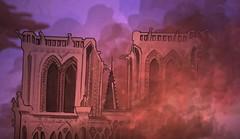 L'incendie (Gary Storck) Tags: notre dame de paris incendie fire cathédrale prémonition motion design clip nqnt