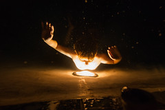 Night Swimming (Thomas Hawk) Tags: america bigtujungacanyon california losangeles ranchoybarra southerncalifornia tujunga usa unitedstates unitedstatesofamerica william williampeterson night pool swimmingpool