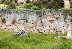 Delphi RX605969 Polygonal wall with curved joints to resist earthquakes (Recliner) Tags: oracle pytho mountparnassus