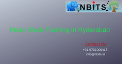 Mean stack Training in Hyderabad (nbitsramakrishna) Tags: mean stack training hyderabad india