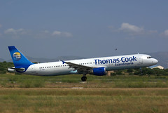 A321 OY-VKA Thomas Cook Scandinavia dep (Avia-Photo) Tags: airport airline airliner aviacion aeroplane airplane aircraft airlines airliners aviation avion airbus flugzeug jet luftfahrt lepa plane planespotting pentax pmi spotter