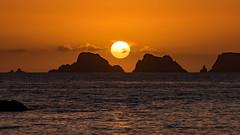 Sunset on peas from Pen-Hir point, France Finistère (khan.Nirrep.Photo) Tags: seascape sky sea sunset sun soleil rocks rochers reflet océan ocean finistère falaise bretagne breizh canon canon70d tamronsp150600mmf563divcusd water flickrunitedaward