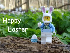 Happy Easter! (Sebastian H. Rohde) Tags: lego easter happy bunny forest picture