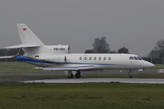 HB-IGV Dassault Falcon 50EX (eigjb) Tags: dublin airport international collinstown eidw ireland plane spotting aviation jet transport aircraft aeroplane airplane executive bizjet dassault falcon falcon50 50ex hbigv
