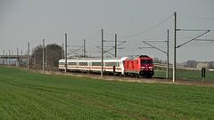245 022 DB (uhrpfälzer) Tags: eisenbahn zug ic intercity felder 245 br245 traxx bombardier seebergen wandersleben reisezug thüringen