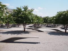 (procrast8) Tags: arlington va virginia national 911 pentagon memorial sculpture light bench washington dc district columbia