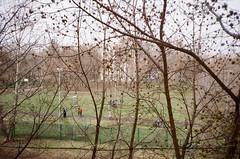 Moscow (natallia_asavitskaya) Tags: spring school moscow russian russia students schoolyard landscape kodak200 analog autoboy canonaf35m 35mm film