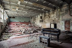music school, Prypjat. (maecces) Tags: lost urbex abandoned prypjat tschernoby ukraine urbanexploration zone lostplace exclusionzone