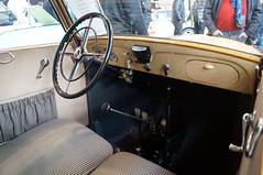 1934 Mercedes 130 Cockpit (Joachim_Hofmann) Tags: auto fahrzeug verbrennungsmotor ottomotor mercedes daimler benz daimerbenz mercedesbenz heckmotor vorkriegskonstruktion