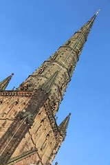 Lichfield Cathedral (richardr) Tags: lichfieldcathedral lichfield cathedral spire midlands themidlands church staffordshire medievalarchitecture medieval gothic gothicarchitecture building architecture england english britain british greatbritain uk unitedkingdom europe european old history heritage historic