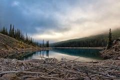 Moraine Lake Morning Mood (Phil's Pixels) Tags: sunrise daybreak firstlight dawn morning reflections morainelake moraine lakemoraine banff banffnationalpark alberta canada
