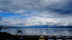 DSC08248 (omirou56) Tags: 169ratio clouds sky sea reflection hellas cars mountains αντανακλαση ελλαδα αιγιο πελοποννησοσ συννεφα ουρανοσ θαλασσα προκυμαια βουνα