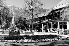 Ostern im Königlichen Kurgarten (Uwe Wieteck) Tags: badreichenhall königlicherkurgarten gradierwerk sole
