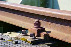 Rusty Detail (Hindrik S) Tags: rail track rails railway railroad spoar spoor schroef bout bolt leg pin rust rusty ruost ruostich roestig rostig detail sonyphotographing sony sonyalpha α77 slta77ii sonyilca77m2 2019 tamronaf16300mmf3563dillvcpzdmacrob016 tamron 16300 75mm