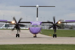 G-JECY (moloneytomEIDW) Tags: man egcc gjecy dh8d dash8 flybe