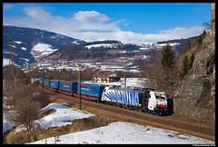 Lokomotion 186 440, Vipiteno 08-02-2018 (Henk Zwoferink) Tags: lokomotion lm rtc railtractioncompany henkzwoferink traxx bombardier br186vipitenotrentinoaltoadigeitaly