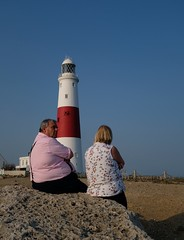 Unobstructed view of a light house (rwbthatisme) Tags: portland bill