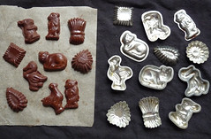 Challenge Friday, week 16, theme chocolate (3) - Chocolate moulds (karenblakeman) Tags: challengefriday cf19 chocolate chocolatemoulds 2019 april uk