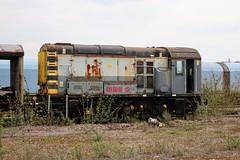 08442 Eastleigh TMD (cmc_1987) Tags: 08442 class08 shunter arriva diesel db eastleigh ews 350hp gronk br britishrail stored