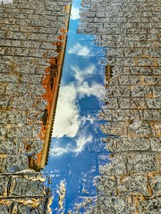 Reflejos de lluvia en el asfalto. (Pontius Pilatuss) Tags: reflections reflejos fotografia photography agua water rain lluvia ciudad city espejo urban urbana street calle callejeo nubes clouds conceptual concepto andalucia andalousie andalusia andalusien original idea