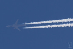 P4-MES (PM's photography) Tags: rnav rnavspotterspl spotting contrail airline airliner jet plane sky travel aviation avporn avgeek canon 7d eos tamron 150600g2 overflight p4mes boeing bbj b763 b767300